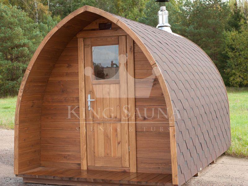Sauna all aperto per giardino igloo per sei persone for Tinozze da giardino